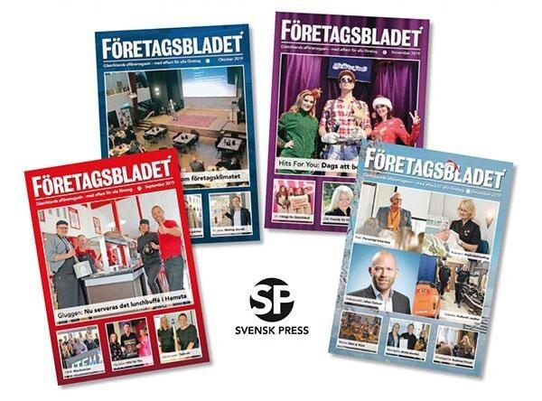 Samarbete med Företagsbladet 2020